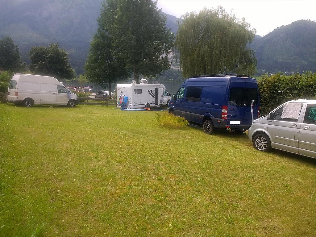 Stellplatz und Campingplatz Grundlsee
